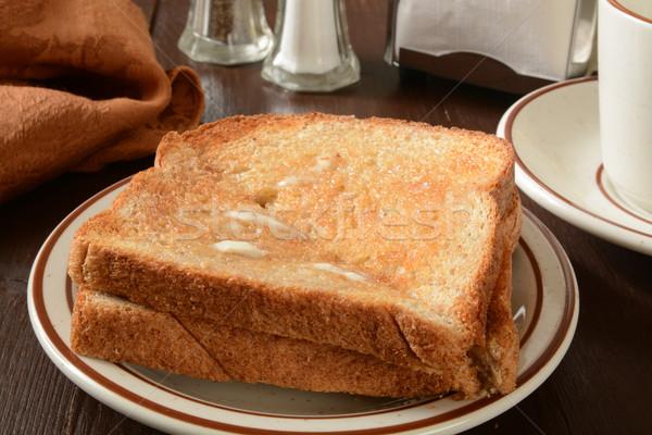 Whole wheat toast Stock photo © MSPhotographic