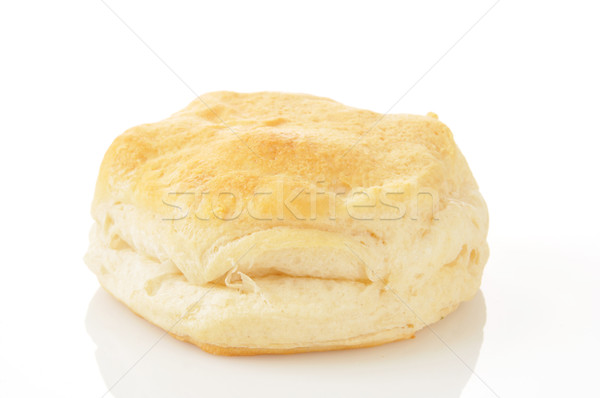 Silngle buttermilk biscuit Stock photo © MSPhotographic
