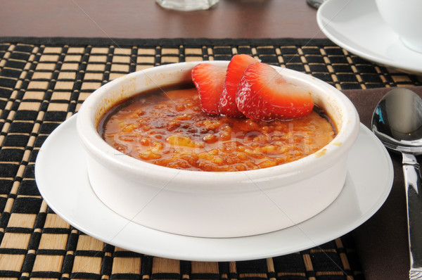 Creme Brulee Stock photo © MSPhotographic