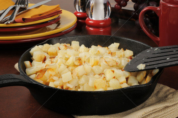 Southern style hash brown potatoes Stock photo © MSPhotographic