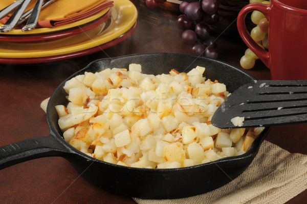 Southern style hash browns Stock photo © MSPhotographic