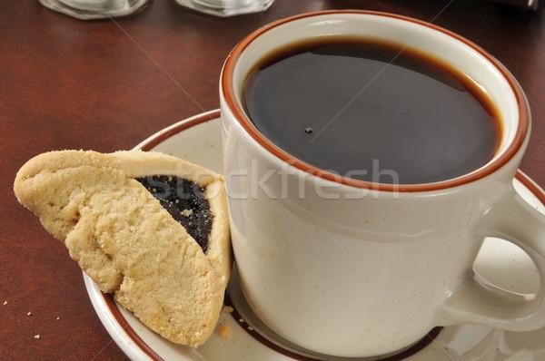 Cookies and coffee Stock photo © MSPhotographic