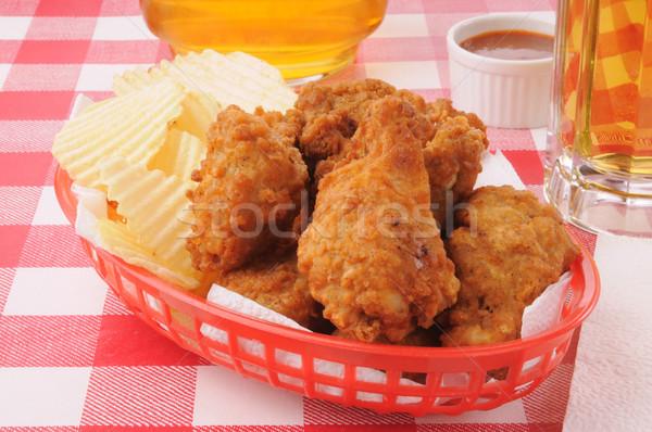 Chicken wings Stock photo © MSPhotographic