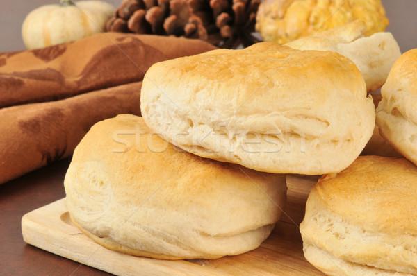 Fresh baked bicuits Stock photo © MSPhotographic