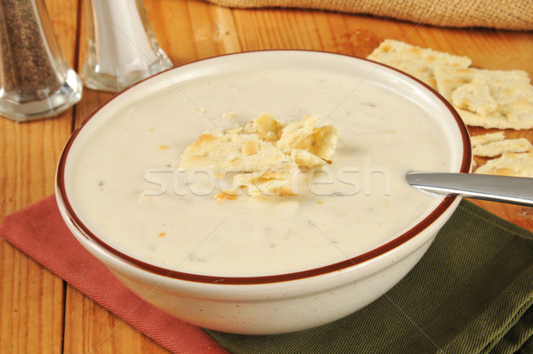Clam Chowder Stock photo © MSPhotographic