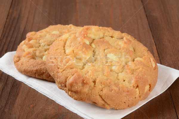 Peanut butter cookies Stock photo © MSPhotographic
