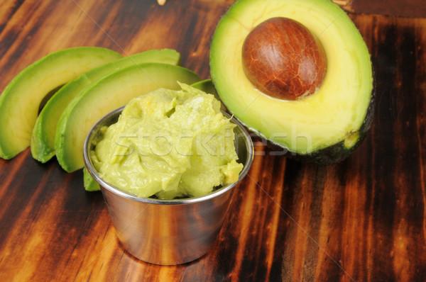 свежие фрукты растительное здорового Ломтики Сток-фото © MSPhotographic