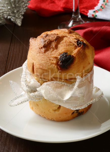 Gourmet Panettone Stock photo © MSPhotographic