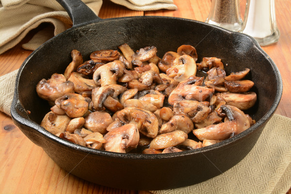 Sauteed mushrooms Stock photo © MSPhotographic