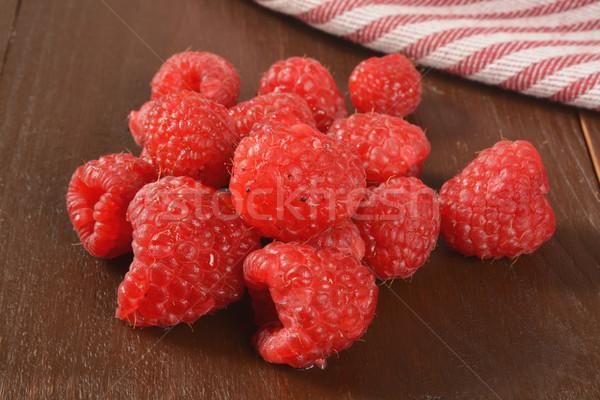 Raspberries Stock photo © MSPhotographic