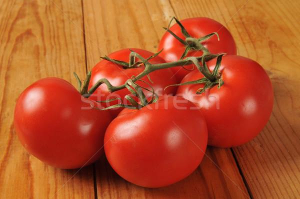 Vine ripened tomatoes Stock photo © MSPhotographic