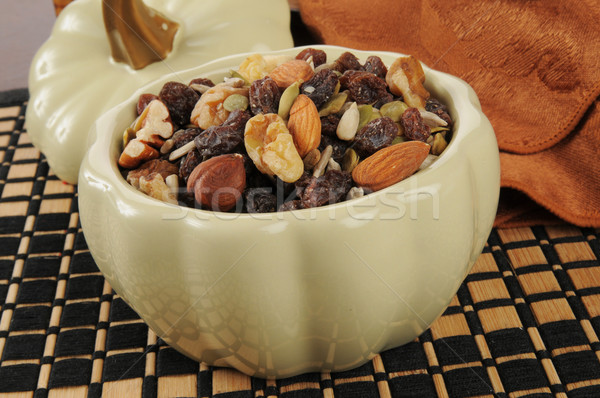 Healthy trail mix snack Stock photo © MSPhotographic