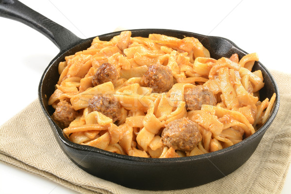 Swedish meatballs Stock photo © MSPhotographic