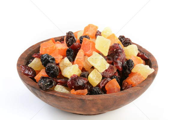 Bowl of dried fruit Stock photo © MSPhotographic