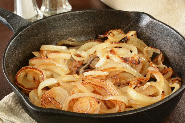 Sauteed onions Stock photo © MSPhotographic