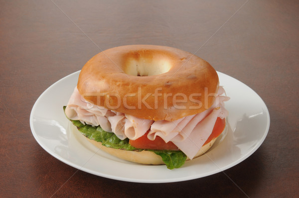 Bagel sandwich Stock photo © MSPhotographic