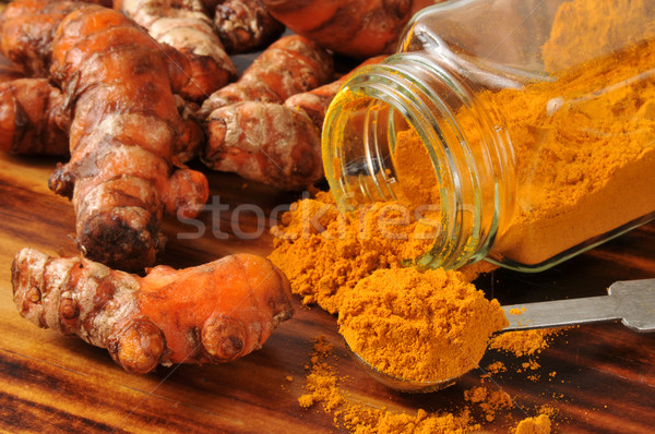 Fresh turmeric Stock photo © MSPhotographic