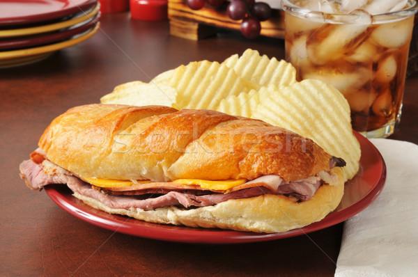 Submarine Sandwich Stock photo © MSPhotographic