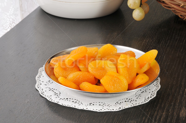 Dried peaches Stock photo © MSPhotographic