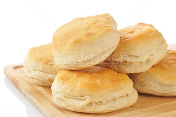 Golden buttermilk biscuits Stock photo © MSPhotographic