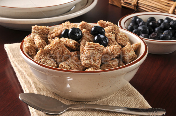 Wheat breakfast cereal Stock photo © MSPhotographic