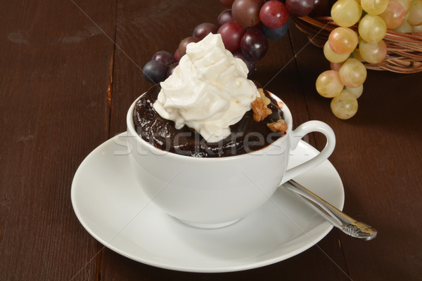 Chocolate pudding Stock photo © MSPhotographic