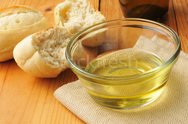 Olive oil and bread Stock photo © MSPhotographic