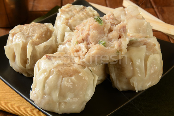 Pork Shu Mai Stock photo © MSPhotographic