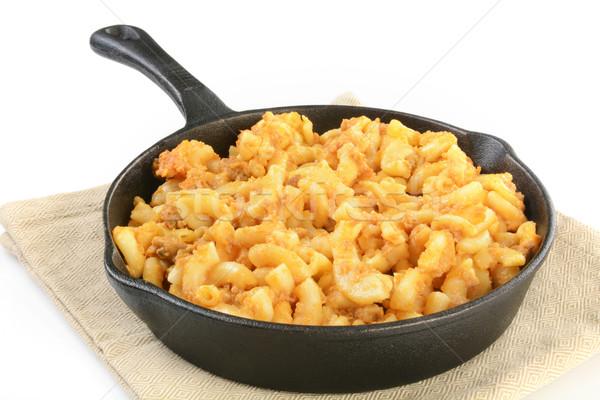 Hamburger macaroni and cheese Stock photo © MSPhotographic