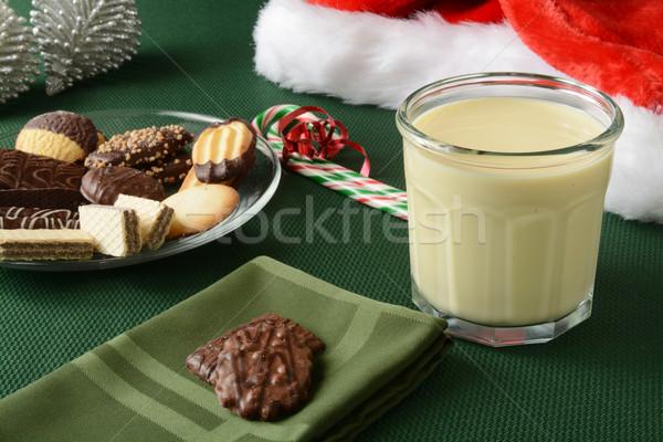 Christmas cookies Stock photo © MSPhotographic