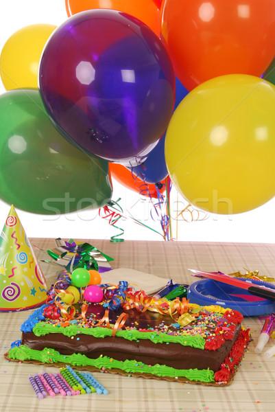 Birthday cake Stock photo © MSPhotographic
