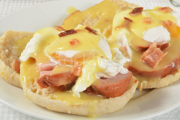 Eggs Benedict Stock photo © MSPhotographic