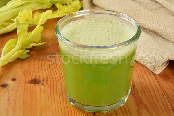 Celery juice Stock photo © MSPhotographic