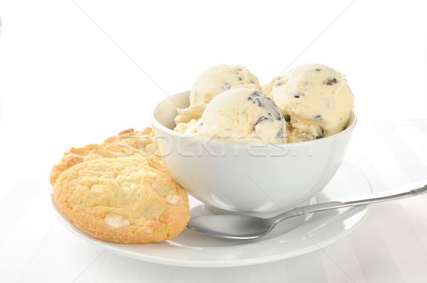 Ice cream and cookies Stock photo © MSPhotographic