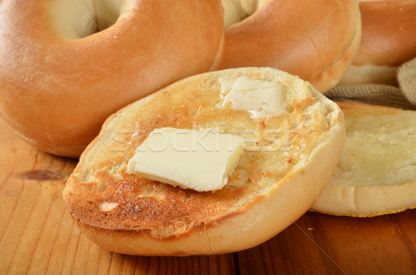 Tostado primer plano mantequilla Foto stock © MSPhotographic