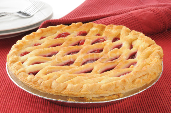 Cherry pie Stock photo © MSPhotographic