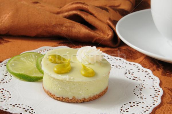 Key Lime Dessert Tart Stock photo © MSPhotographic