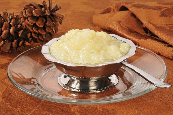 Tapioca pudding Stock photo © MSPhotographic