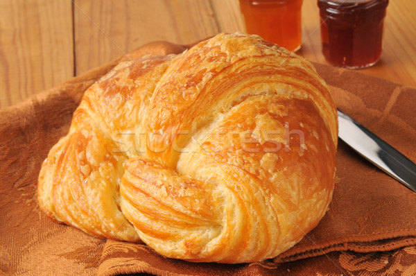 Golden croissant Stock photo © MSPhotographic