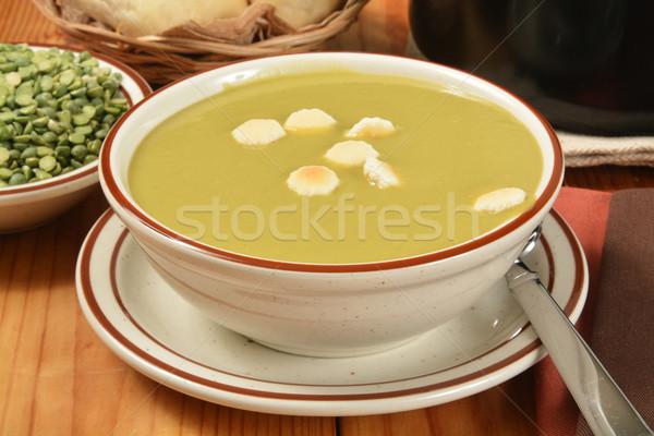Stockfoto: Soep · kom · diner · lunch · maaltijd