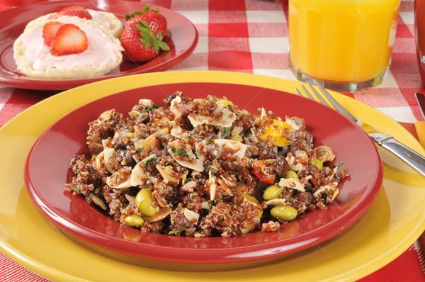 Healthy quinoa salad Stock photo © MSPhotographic
