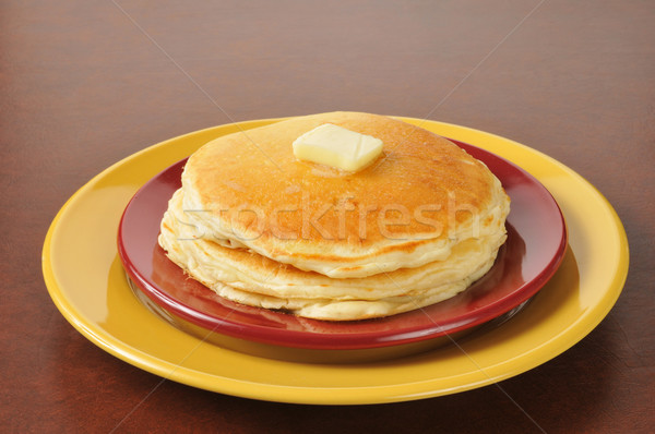 Hot buttered pancakes Stock photo © MSPhotographic