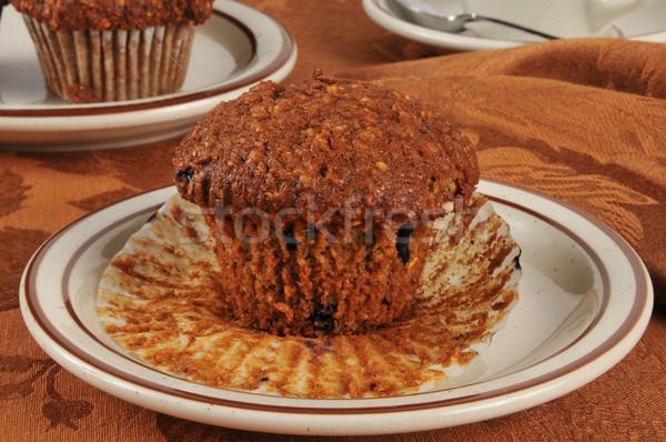Bran muffins Stock photo © MSPhotographic