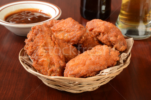 Chicken wings Stock photo © MSPhotographic