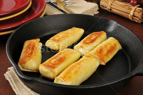 картофеля блюд этнических горизонтальный Сток-фото © MSPhotographic