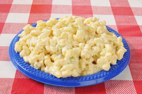 Macaroni salad Stock photo © MSPhotographic