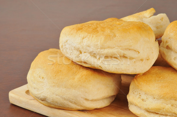 Fresh baked biscuits Stock photo © MSPhotographic