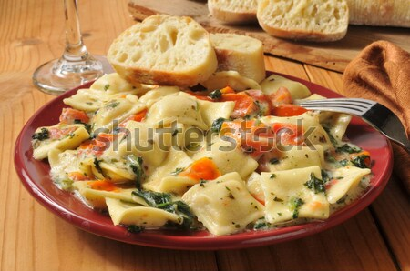 Lobster ricotta ravioli Stock photo © MSPhotographic