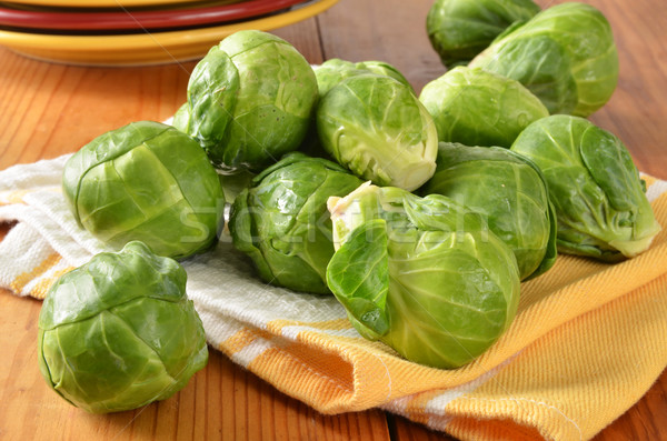 Brussel sprouts Stock photo © MSPhotographic