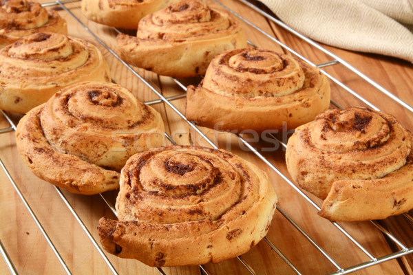 Cinnamon rolls Stock photo © MSPhotographic